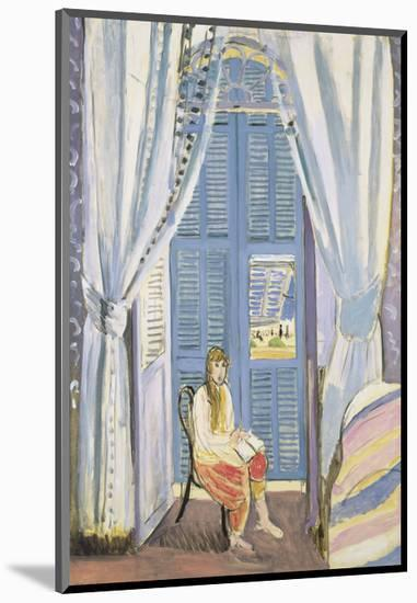 The French Window at Nice, Late 1919-Henri Matisse-Mounted Art Print