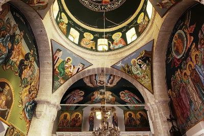 The Frescoes in the Church of the Greek Orthodox Convent of St Thecla (Taqla), Maaloula, Syria--Photographic Print