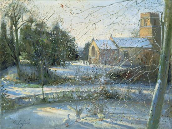 The Frozen Moat, Bedfield-Timothy Easton-Giclee Print