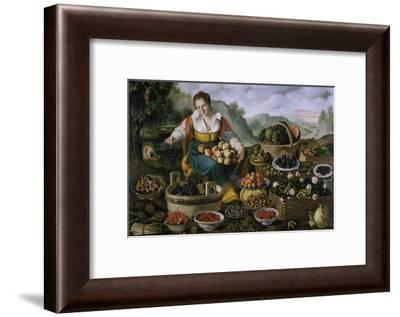 The Fruit Dealer-Vincenzo Campi-Framed Giclee Print