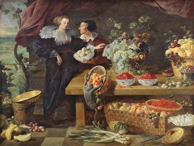 The Fruit Seller-Pierre Boucle-Giclee Print