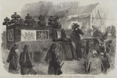 The Funeral of His Late Royal Highness the Prince Consort--Giclee Print
