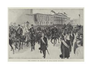 The Funeral of Kossuth at Buda-Pesth, Hungary