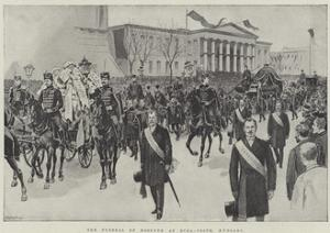 The Funeral of Kossuth at Buda-Pesth, Hungary