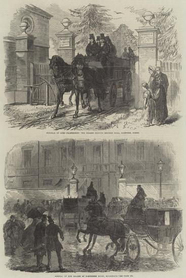 The Funeral of Lord Palmerston-Charles Robinson-Giclee Print