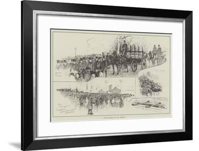 The Funeral of Mr Bright--Framed Giclee Print