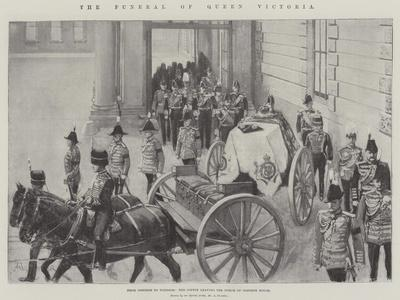 The Funeral of Queen Victoria-Amedee Forestier-Giclee Print