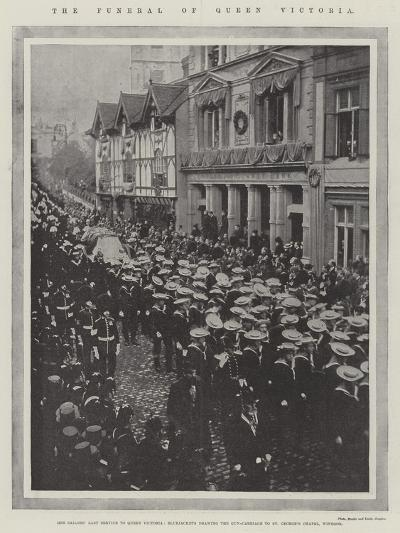 The Funeral of Queen Victoria--Giclee Print