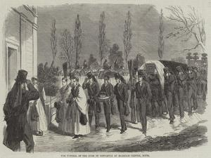 The Funeral of the Duke of Newcastle at Markham Clinton, Notts