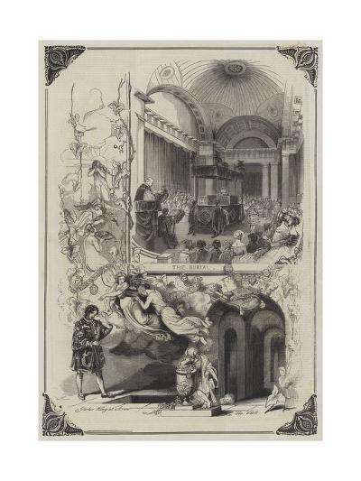 The Funeral of the Duke of Sussex--Giclee Print