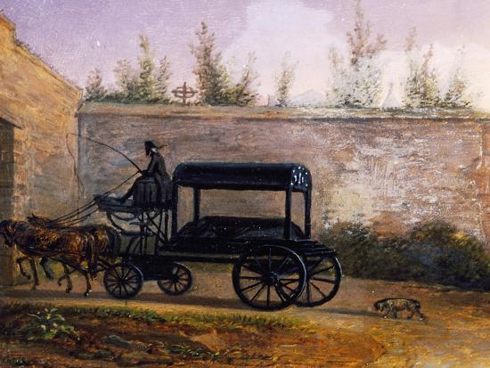 The Funeral of Wolfgang Amadeus Mozart--Giclee Print