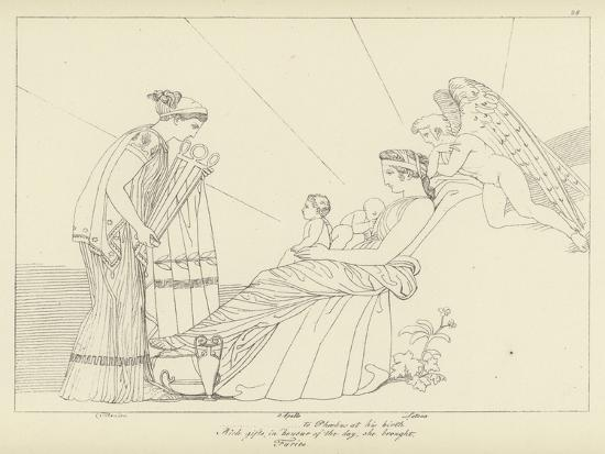 The Furies-John Flaxman-Giclee Print