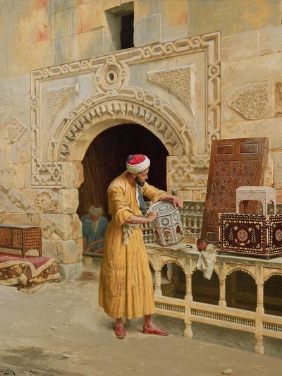 The Furniture Maker-Ludwig Deutsch-Giclee Print