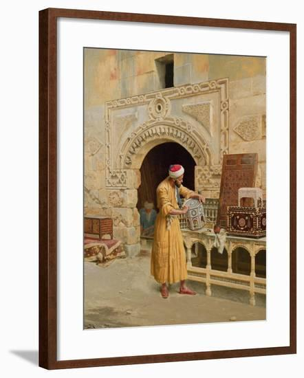 The Furniture Maker-Ludwig Deutsch-Framed Giclee Print