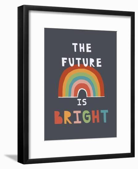 The Future Is Bright-Kindred Sol Collective-Framed Art Print