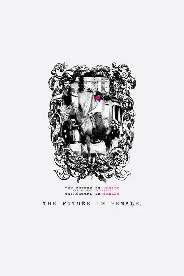 The Future is Female--Art Print
