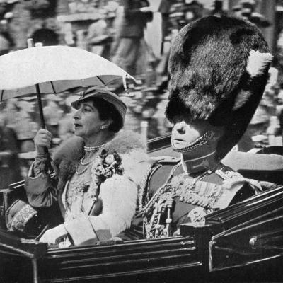 The Future King Edward VII (1894-197) and Queen Maud of Norway (1869-193), 1935--Giclee Print