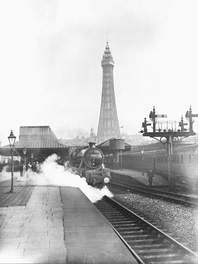 The Fylde Coast Express at Blackpool Central Station--Photographic Print