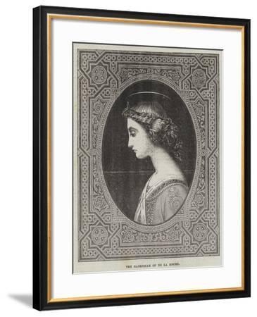 The Gabrielle-Hippolyte Delaroche-Framed Giclee Print