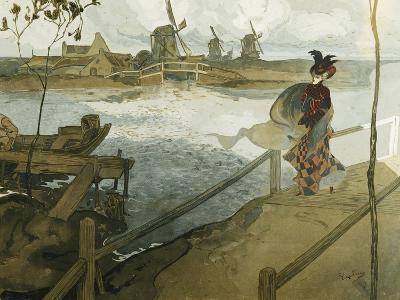 The Gale; Le Coup De Vent-Georges de Feure-Giclee Print