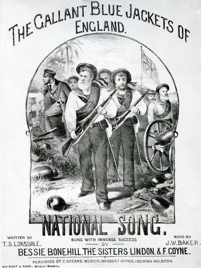 The Gallant Blue Jackets of England--Giclee Print