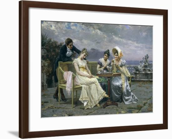 The Gallant Conversation, 1894--Framed Giclee Print
