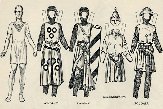 'The Gallery of British Costume: How The English Dressed in King John's Time', c1934-Unknown-Giclee Print