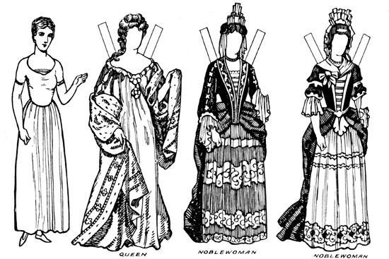 'The Gallery of British Costume: Some of the Dresses Worn in Anne's Reign', c1934-Unknown-Giclee Print