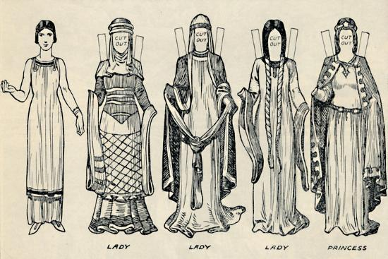 'The Gallery of British Costume: The Dress People Wore in Norman Times', c1934-Unknown-Giclee Print