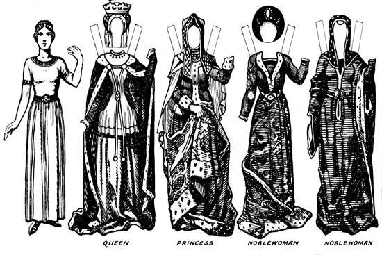 'The Gallery of British Costume: The Dresses Worn In Richard III's Reign', c1934-Unknown-Giclee Print