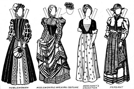 'The Gallery of Costume: Dresses Worn in the Days When Queen Mary Reigned', c1934-Unknown-Giclee Print