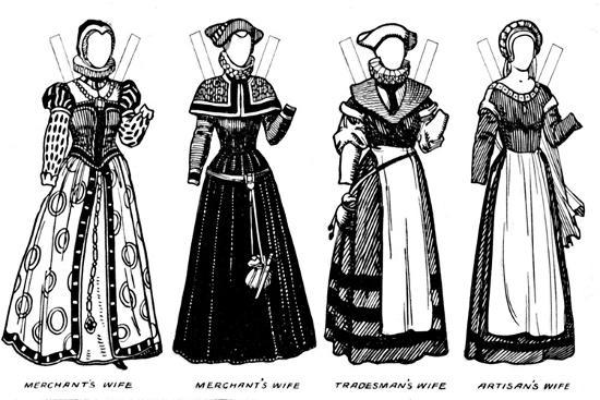 'The Gallery of Historic Costume: Some of the Dresses Worn in Elizabeth's Reign', c1934-Unknown-Giclee Print