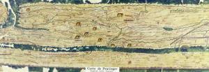 The Gallo-Roman Segment of the Peutinger Table, Facsimile of the 3rd Century Original