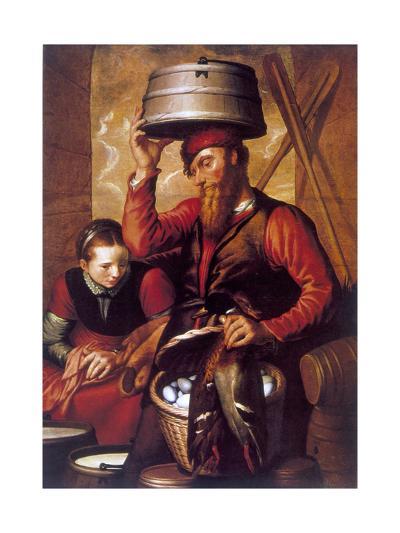 The Game Dealer, 16th Century-Pieter Aertsen-Giclee Print
