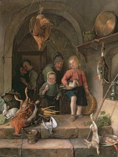 The Game Larder-Jan Havicksz Steen-Giclee Print