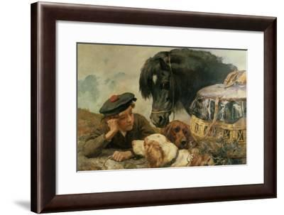 The Gamekeeper's Companion-William Strutt-Framed Giclee Print