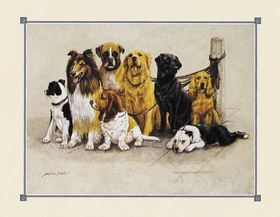 The Gang's All Here--Art Print