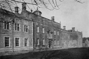 The garden facade of Harrington House, Bourton-on-the-Water, Gloucestershire, 1926