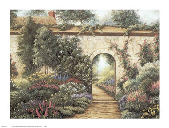 The Garden Gate-Barbara R^ Felisky-Art Print