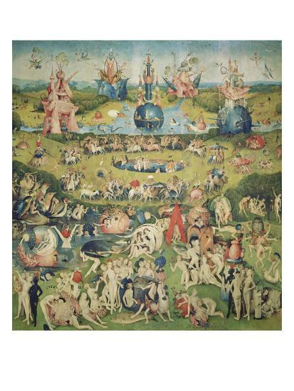 The Garden Of Earthly Delights Central Panel Of Triptych Giclee Print By Hieronymus Bosch