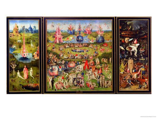 The Garden of Earthly Delights, circa 1500-Hieronymus Bosch-Giclee Print