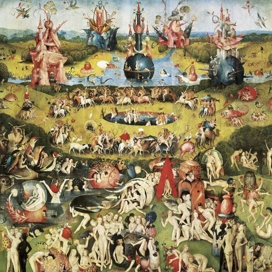 The garden of earthly delights art print by hieronymus - Hieronymus bosch garden of earthly delights ...