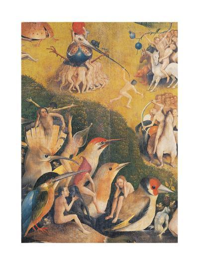 The Garden of Earthly Delights-Hieronymus Bosch-Giclee Print