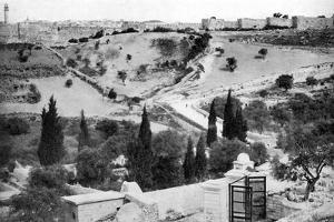 The Garden of Gethsemane and the Holy City of Jerusalem, 1926