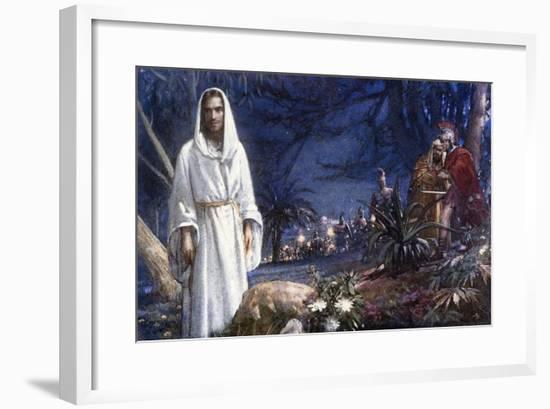 The Garden of Gethsemane-John Millar Watt-Framed Giclee Print