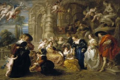 The Garden of Love, C. 1633-Peter Paul Rubens-Giclee Print