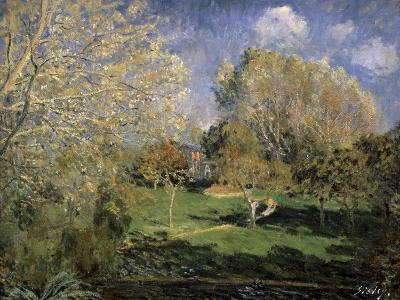 The Garden of Monsieur Hosched? in Montgeron, 1881-Alfred Sisley-Giclee Print
