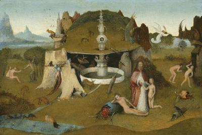 The Garden of Paradise, 1510-20-Hieronymus Bosch-Giclee Print
