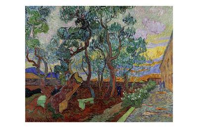 The Garden of Saint Paul's Hospital II-Vincent van Gogh-Giclee Print