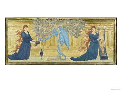The Garden of the Hesperides, c.1880-81-Edward Burne-Jones-Giclee Print